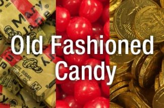 Old Fashioned Candy - three images